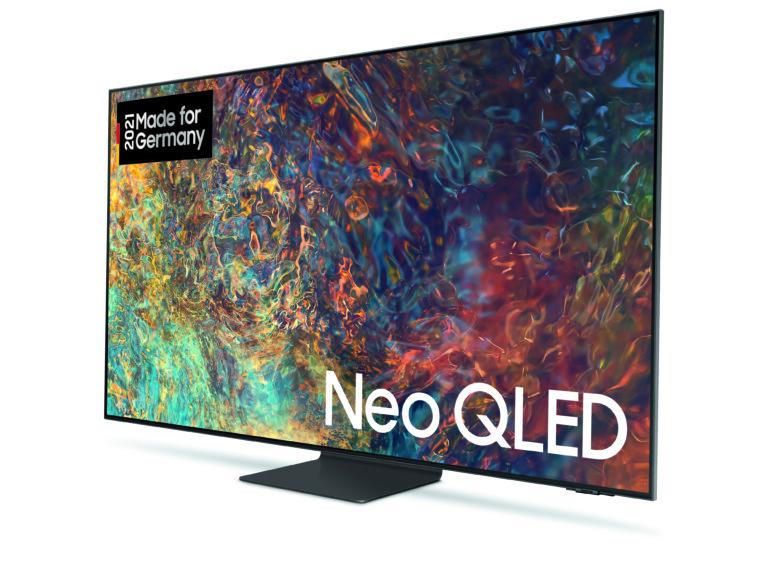Setzt auf Neo QLED: Der Samsung GQ55QN93AATXZG