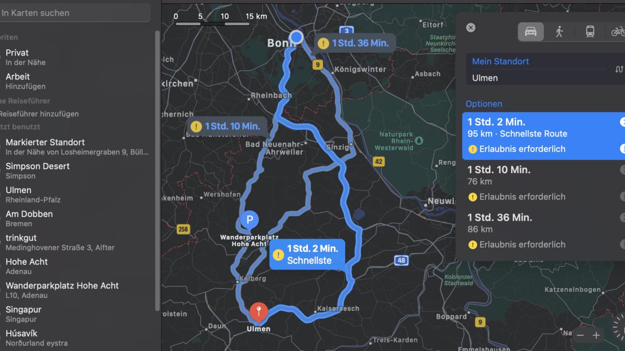 Ist Apple Maps ein zuverlässiges Navi?