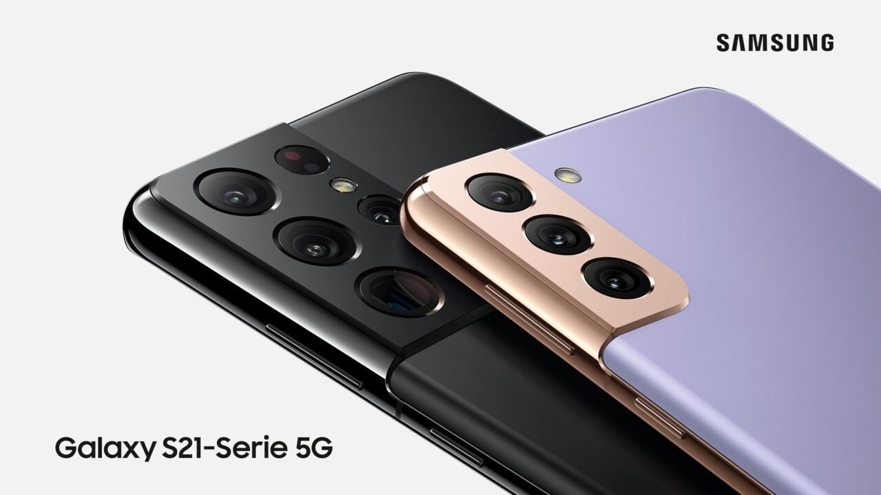 Teste ein Samsung Galaxy S21 5G Smartphone für Euronics