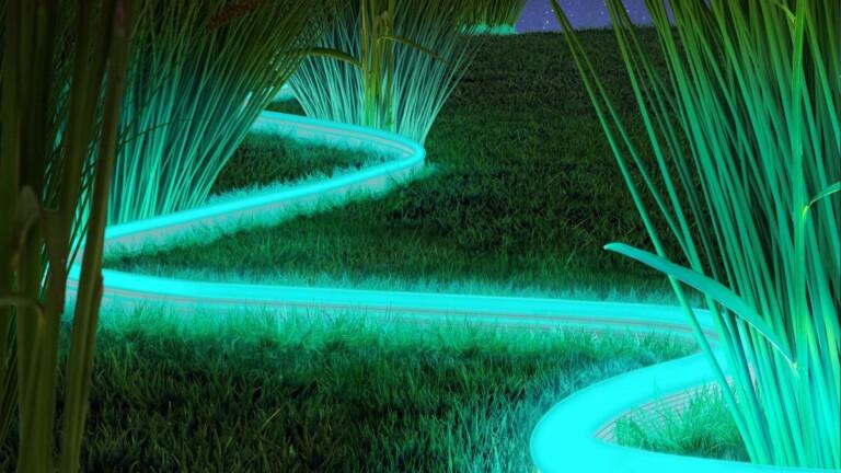 Gerade bei Gartenbeleuchtung gilt: weniger ist mehr. (Foto: Innr)
