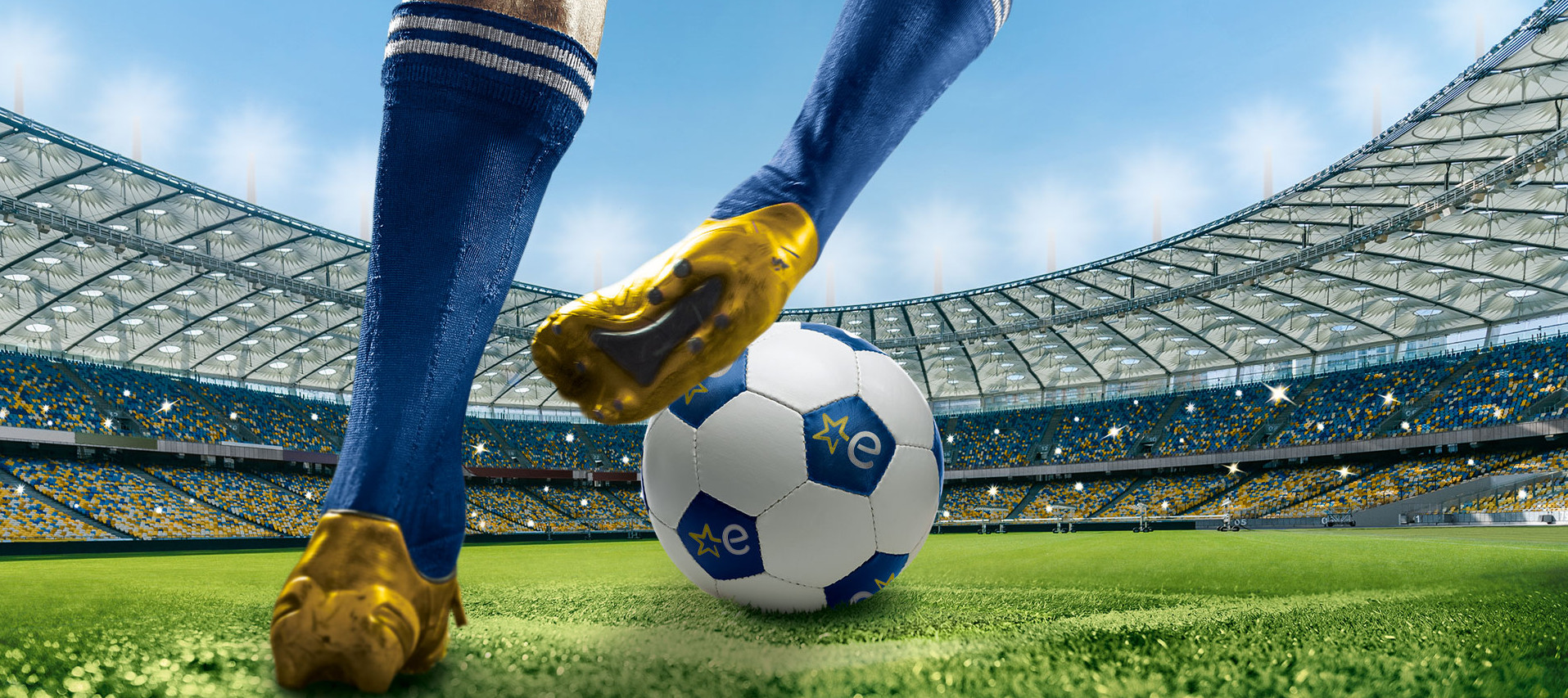 Fussball im Euronics-Stadion