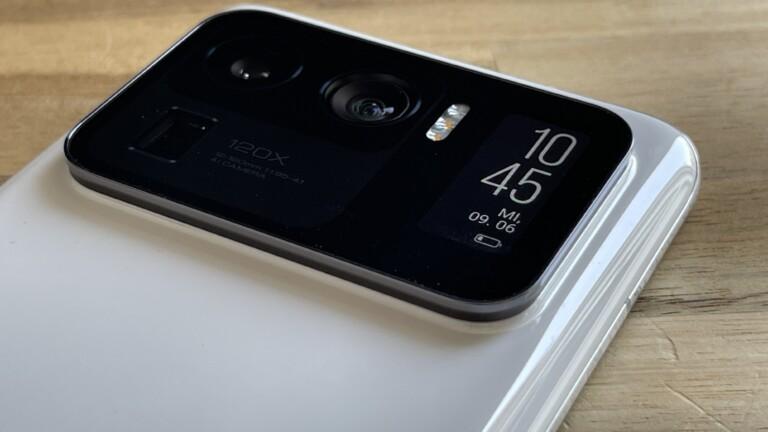 Xiaomi Mi 11 Ultra Zweitbildschirm