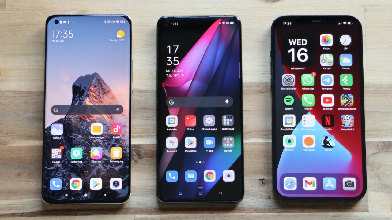 Mi 11 Ultra vs Find X3 Pro vs iPhone 12 Pro Max: Der ultimative Vergleich