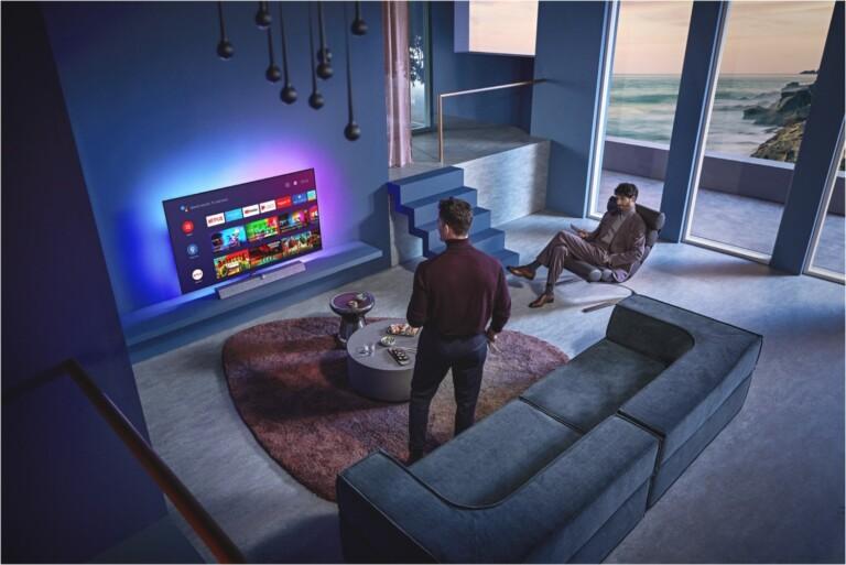 Der Philips OLED 935 unterstützt zum Beispiel Stadia offiziell. (Foto: Philips)