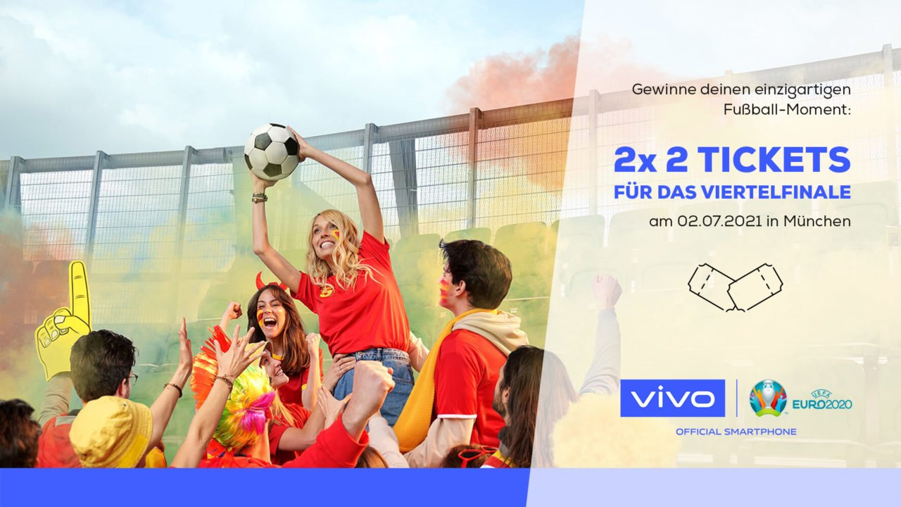 Gewinne mit vivo Tickets für die Fußball-Europameisterschaft 2021