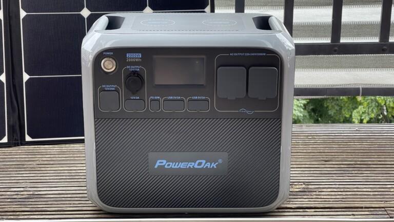 Bluetti PowerOak Solar-Powerstation AC200P