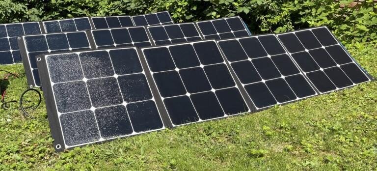 Bluetti SP200 Solarpanels