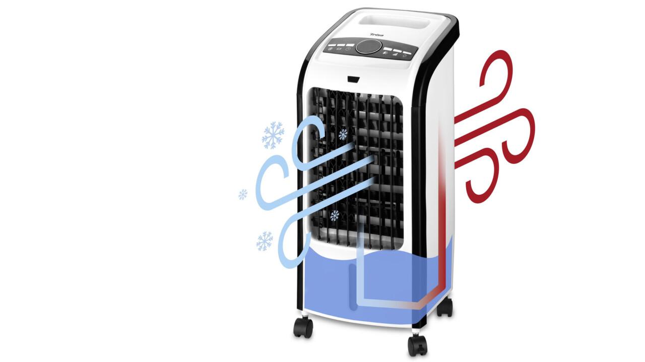 Luftkühler: Wie ein Ventilator mit Wasser