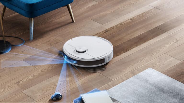 Der Ecovacs Deebot N8 Pro findet seinen Weg dank hochentwickelter Sensoren