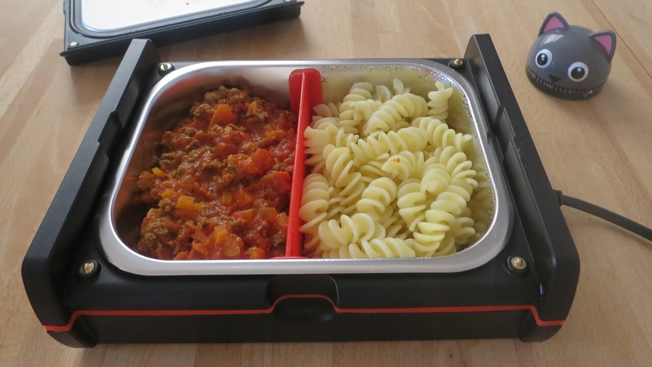 Rommelsbacher HeatsBox im Test: Beheizbare Lunchbox macht Appetit