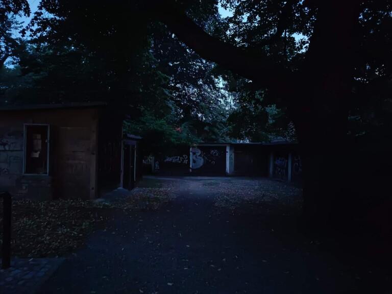 Hier war es extrem dunkel, aber das Nord 2 hat noch etwas aufnehmen können. (Foto: Sven Wernicke)
