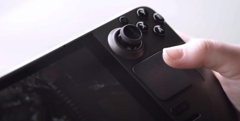 Die Touchpads eignen sich gut für PC-typische Strategiespiele. (Foto: Valve)