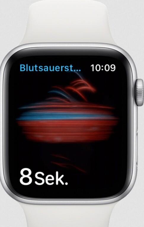Heutige Smartwatches wie die Apple Watch besitzen eine SpO2-Messung. (Foto: Apple)