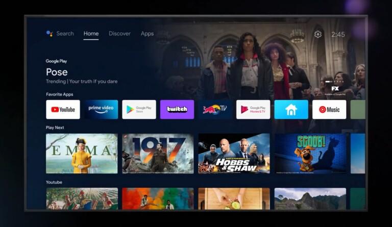 Android TV ist stylisch, aber mitunter etwas unübersichtlich. Hersteller von Streamingplayern fügen häufig eigene Oberflächen hinzu. (Foto: Google)