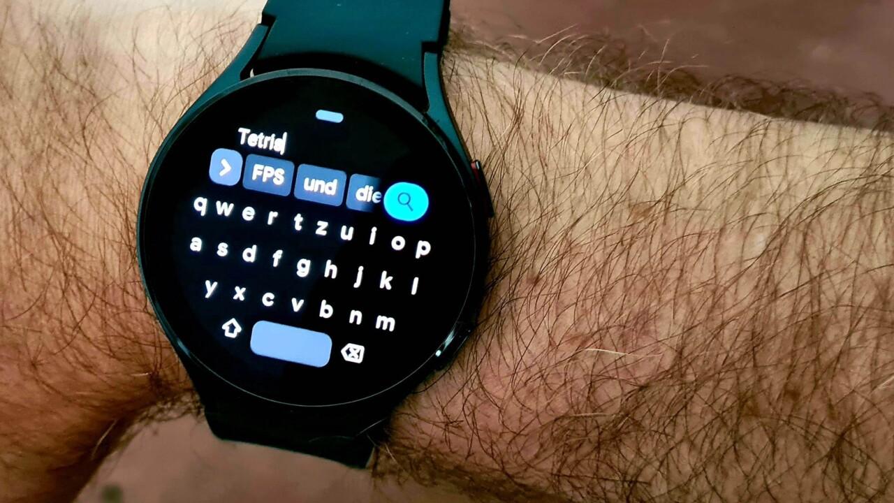 Smartwatch mit Wear OS: So wechselt ihr die Tastatur