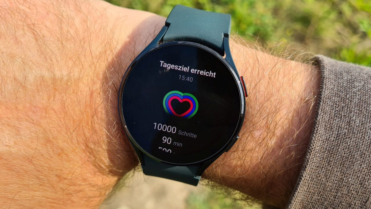 Samsung Galaxy Watch4 im Test: Schön, edel, nicht perfekt