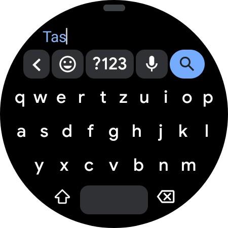 Probiert die Tastatur aus. (Screenshot)