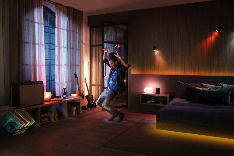 Party dank Philips Hue und Spotify. (Foto: Signify)