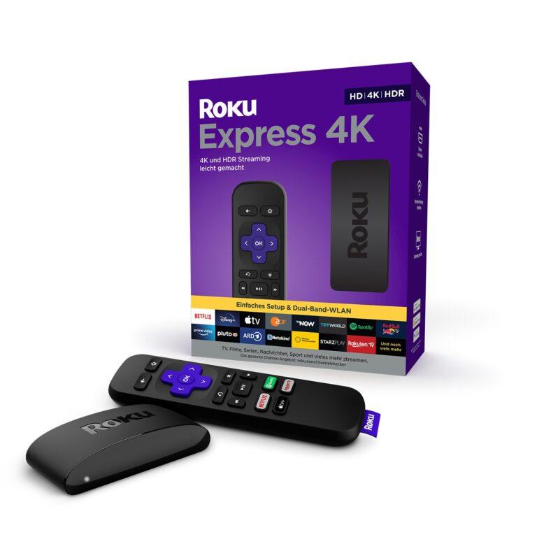 Der Roku Express 4K ist 10 Euro teurer als sein kleinerer Bruder. (Foto: Roku)