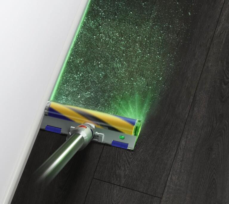Lasertechnologie beim Saubermachen: Der Dyson V15 Detect Absolute